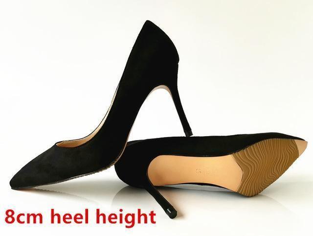 909b9ffffe Stilettos Womens Shoes High Heels 12CM High Heels Purple Shoes Pumps Women  Heels Sexy Pointed Toe Wedding Shoes For Woman B-0049