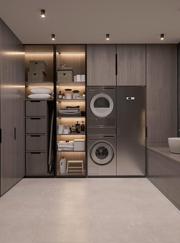 英国公寓 Dezign Ark Beta In 2020 Home Room Design Modern Laundry Rooms Laundry Room Design