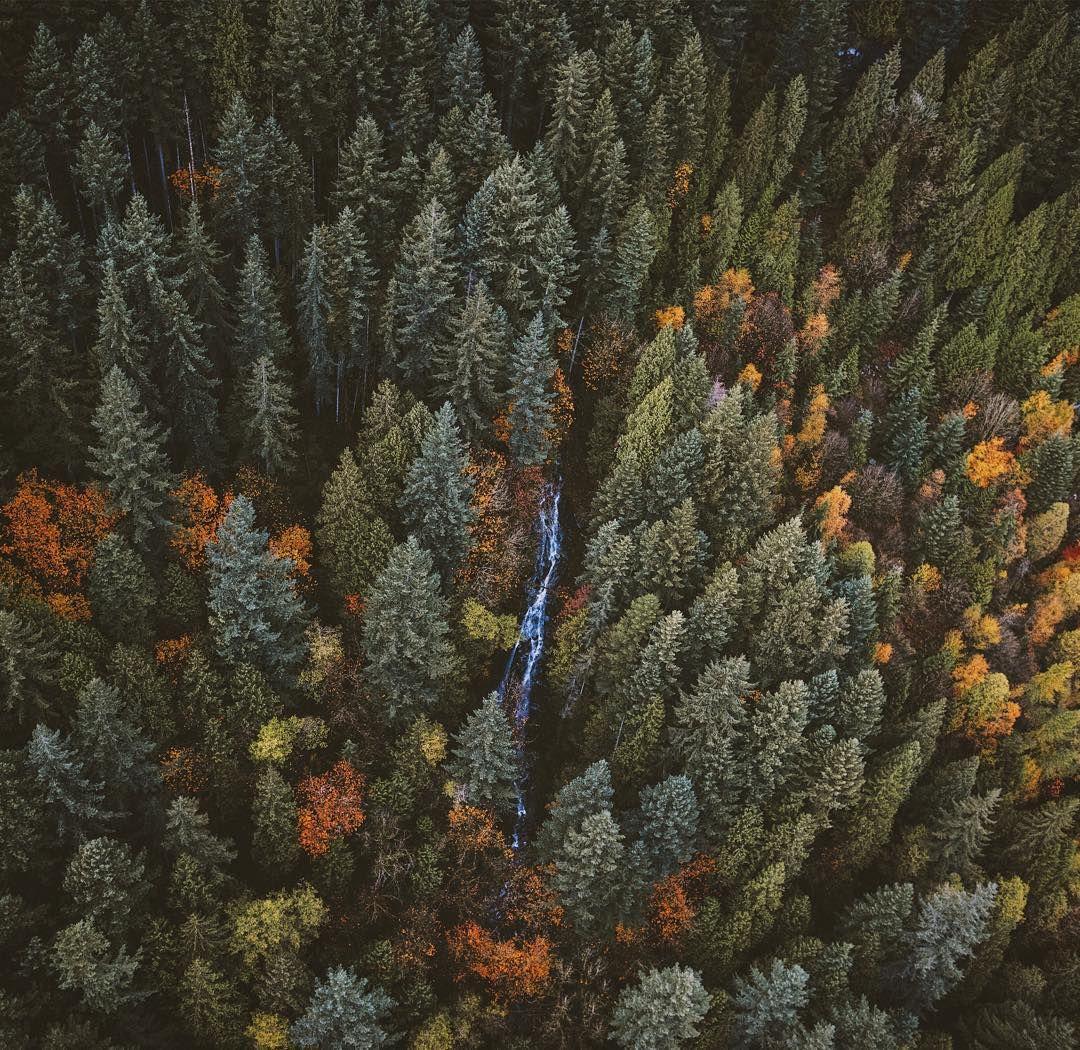 Secret Waterfall somewhere deep into Golden Ears BC Canada. @stayandwander