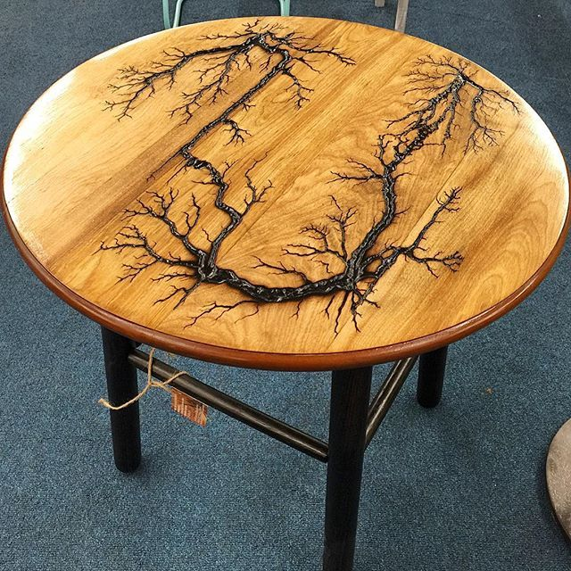 Lichtenberg Figures Wood Wood Art Projects Wood Diy Wood Projects