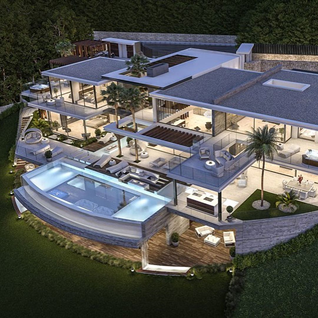 Spectacular Luxury Houses Lux Luxury Lux Houses Luxevler Luxury Houses L In 2020 Luxury Homes Dream Houses Beautiful Modern Homes Dream House Exterior