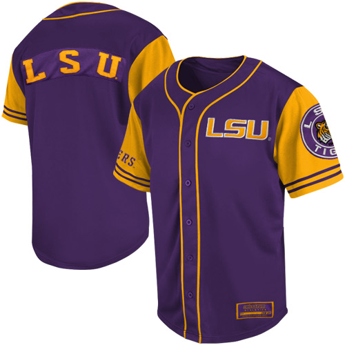 sports shoes 6d41a 728e3 LSU Tigers Rally Baseball Jersey | LSU Tigers | Baseball ...