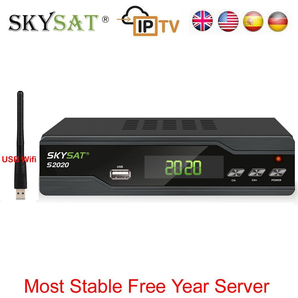 Genuine] SKYSAT S2020 Twin Tuner Satellite Receiver IKS SKS