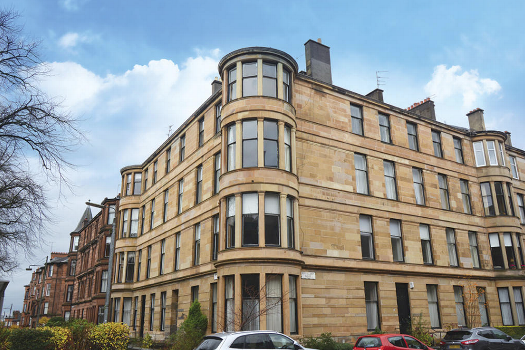 Stunning five-bedroom flat in Hyndland up for sale ...