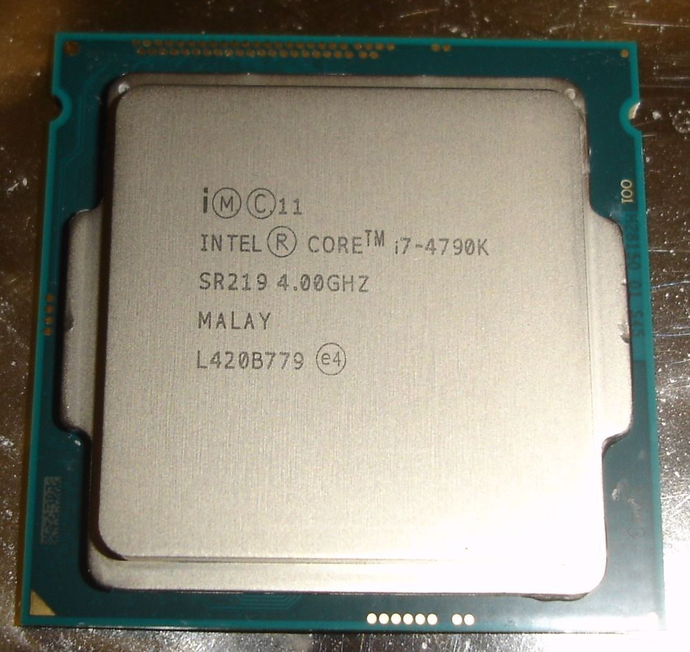 Intel Procesor Core I7 4790k 4 00 Ghz Box Socket 1150 Spec Dan 4790 34 Sr219 Quad Processor 400 Lga Cpu Haswell