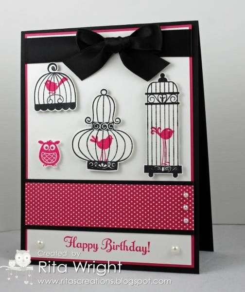 Melon Birds by kyann22 - Cards and Paper Crafts at Splitcoaststampers