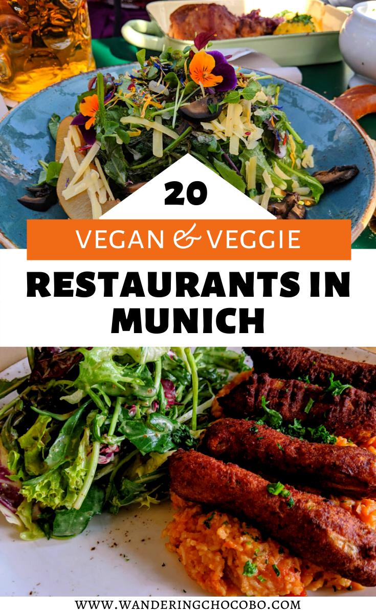 Mouthwatering Vegan Vegetarian Food In Munich In 2020 Vegan Restaurants Food Guide Food