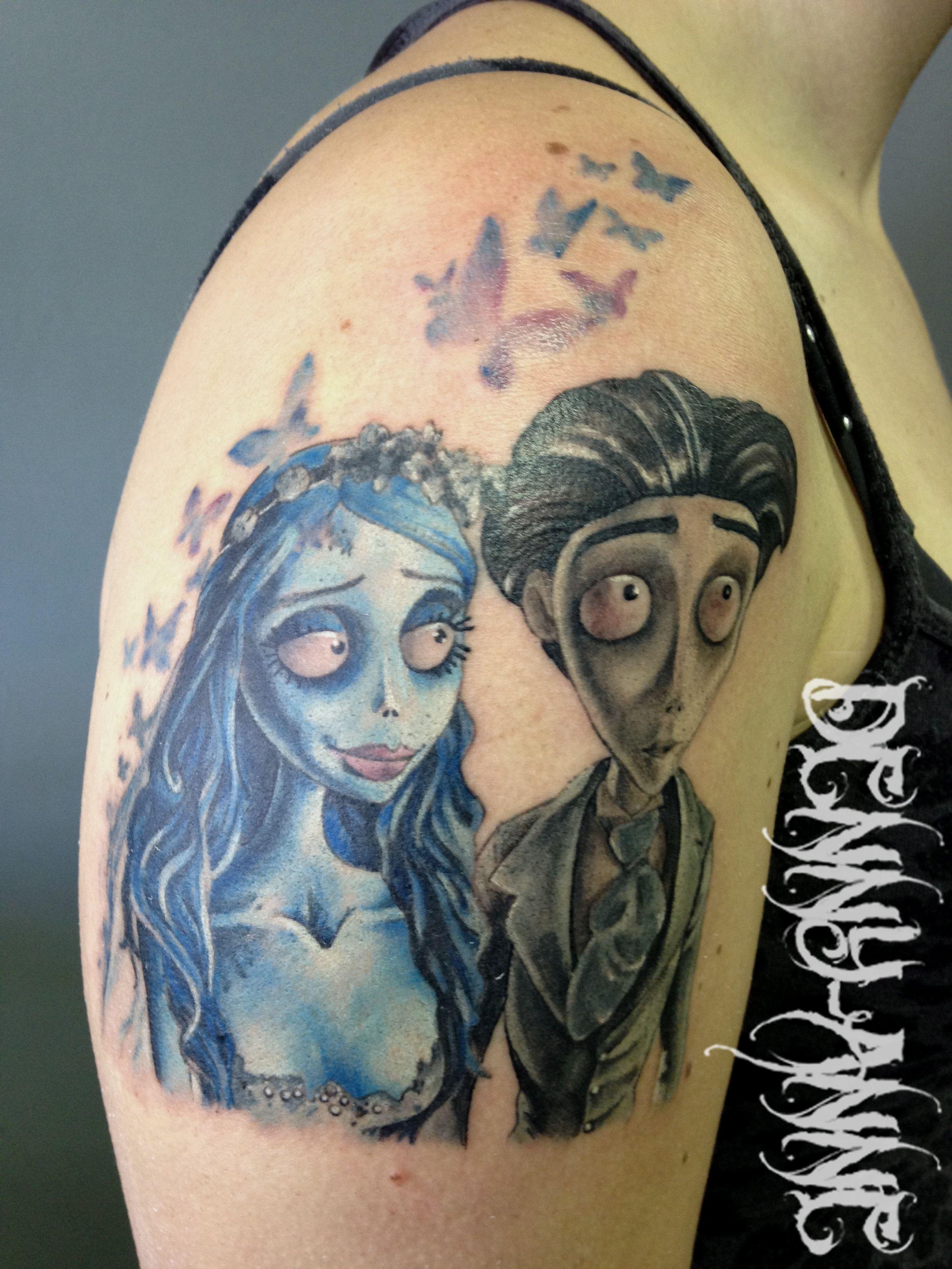 Tattoo color Corpse Bride | Umm body art YES! | Pinterest | Tattoo ... - Tattoo Studio Bielefeld