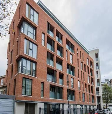 contemporary brick apartment