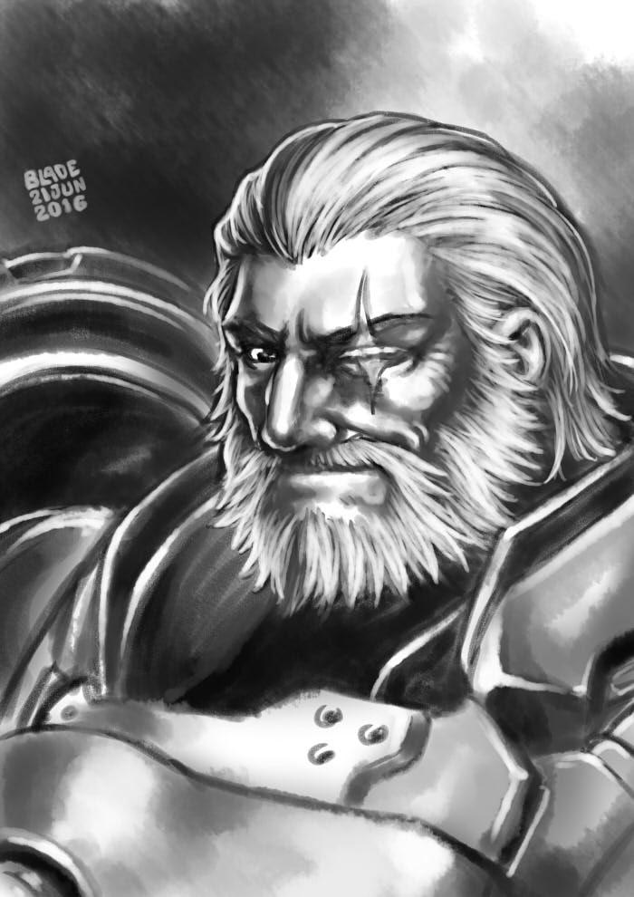 Overwatch: Reinhardt by Blade-Fury.deviantart.com on @DeviantArt