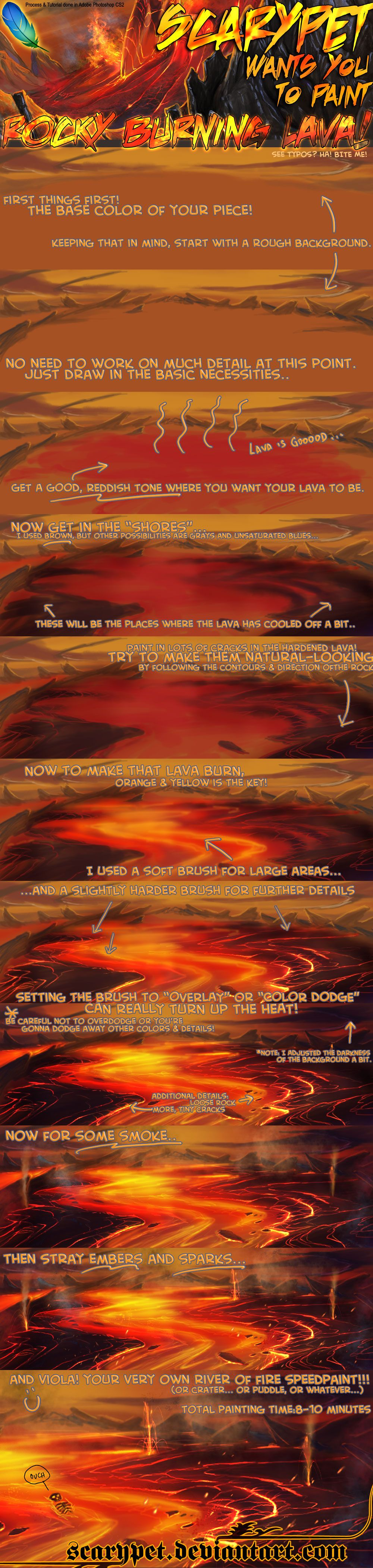 Scarypet's LAVA TUTORIAL by scarypet on deviantART