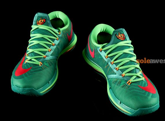 reputable site f0829 f51eb Nike KD 6 Elite  Turbo Green