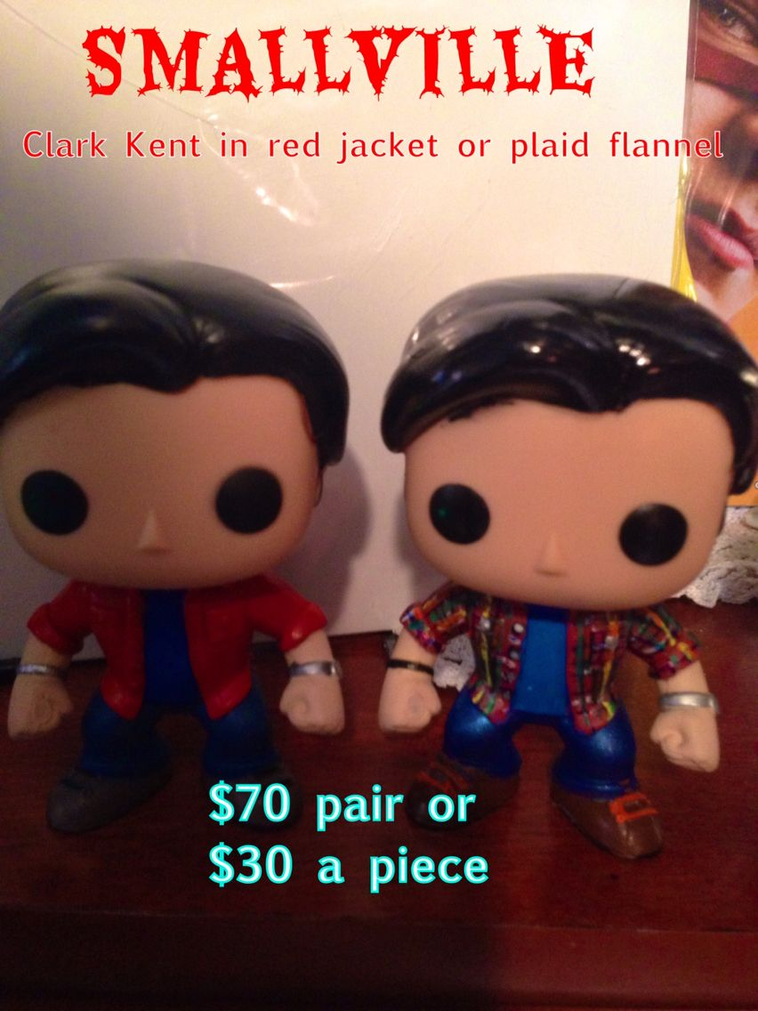 Custom Smallville Pops We Made And Sell On Etsy Com Shop Tvfanaticcustoms