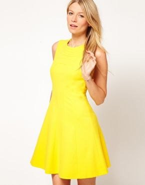 Enlarge Ted Baker Dress With Pleat Detail