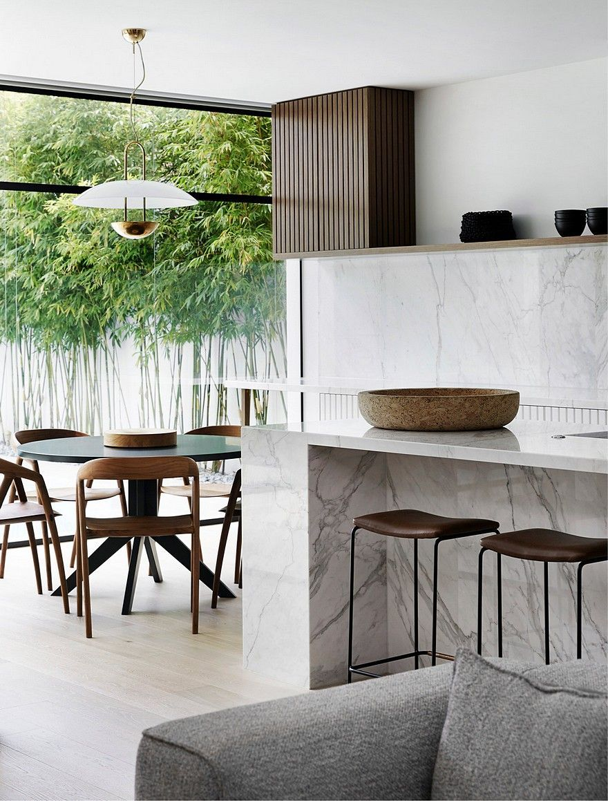 in desperate need of some love and care this mid century home in melbournes leafy east has a new lease of life mim design connected spaces making the - Home Styling Blog