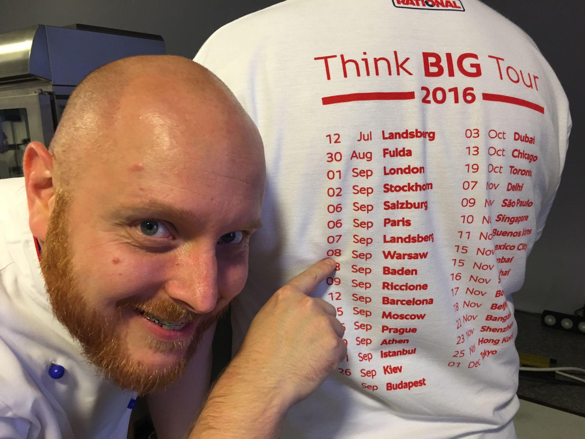 #ThinkBIGTour2016 Poland