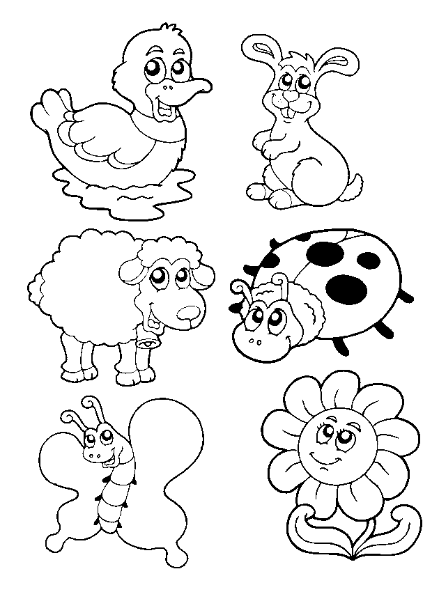 Картинки, маленькие картинки для печати раскраска