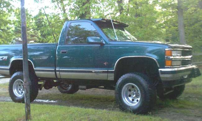 1997 Chevy Z71 With 4 Suspension Lift 3 Body Lift Still In Box