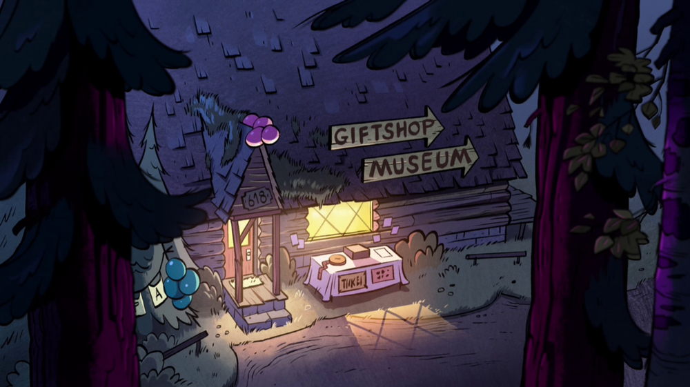 Mystery Shack Gallery In 2020 Gravity Falls Town Fall Pictures Fall Background