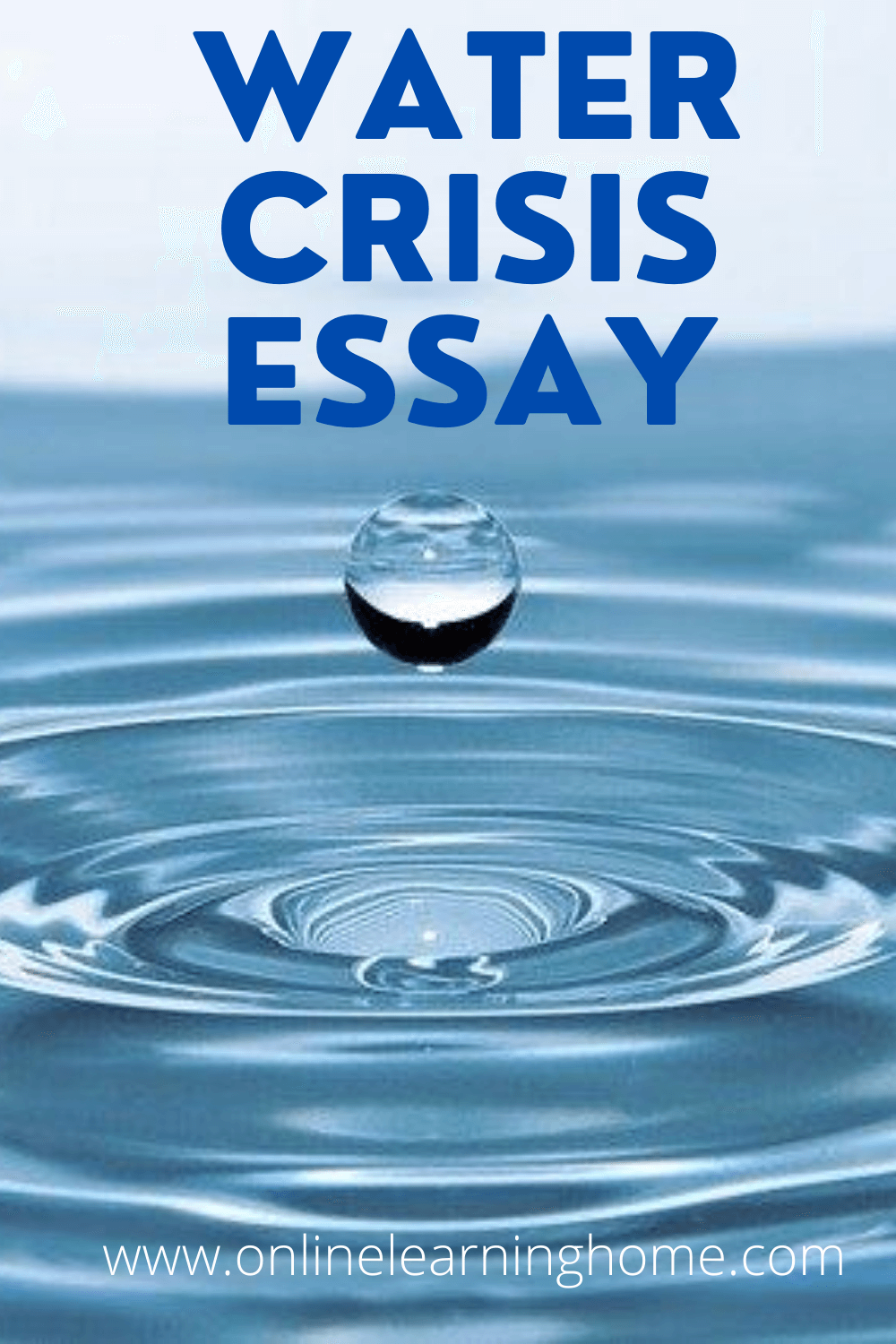 Water Crisi Essay Online Learning And Energy In Pakistan Pdf Outline Cs