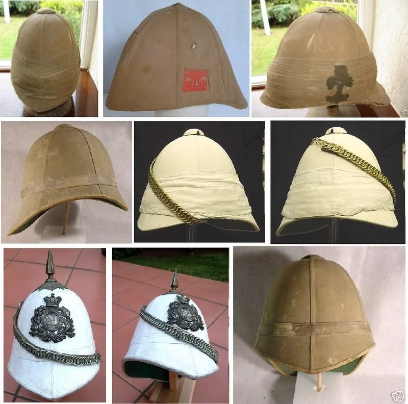c4df84969a276 rorkesdriftvc.com :: View topic - Zulu or boer war pith helmets ...