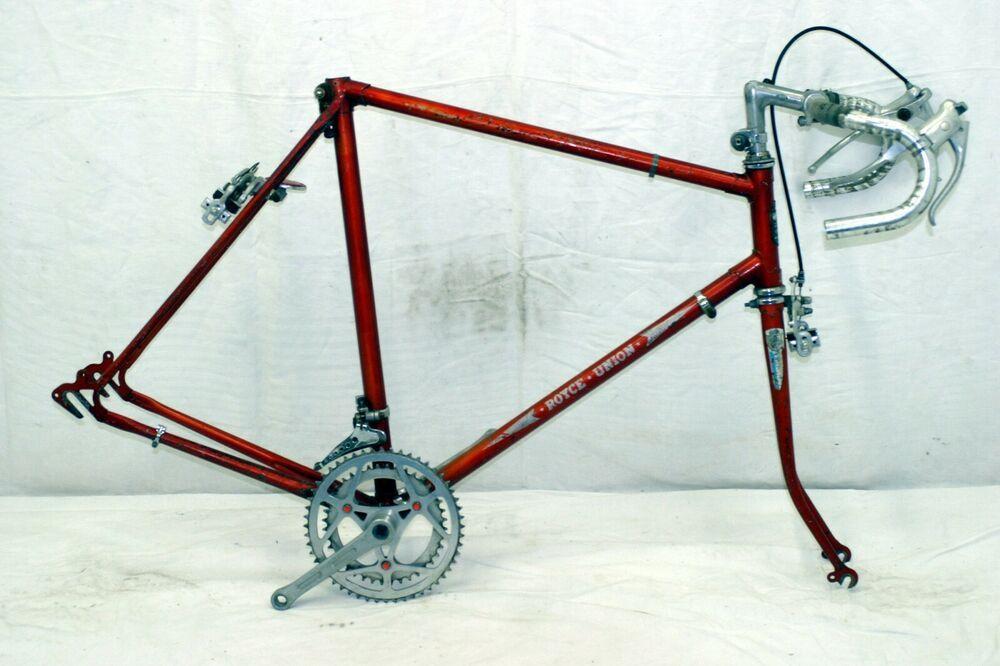 Royce Union Vintage Touring Road Bike Frame 58cm Large 70s Suntour Steel Charity