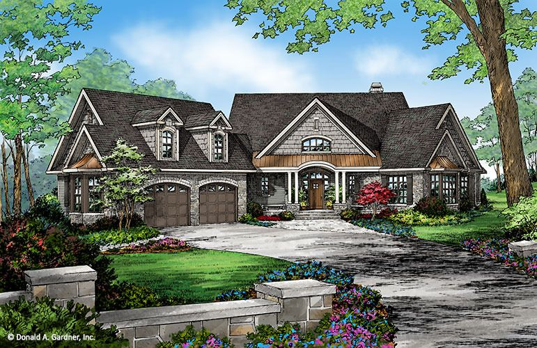 Sylvan House Plan Ranch House Exterior Dream House Plans