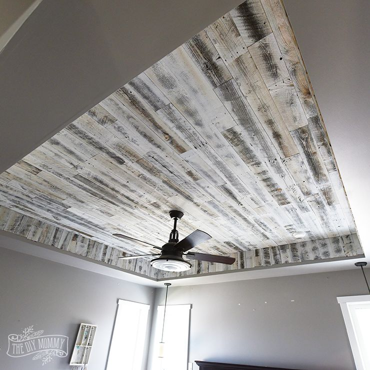 How To Install A Rustic Wood Ceiling With Stikwood One Room