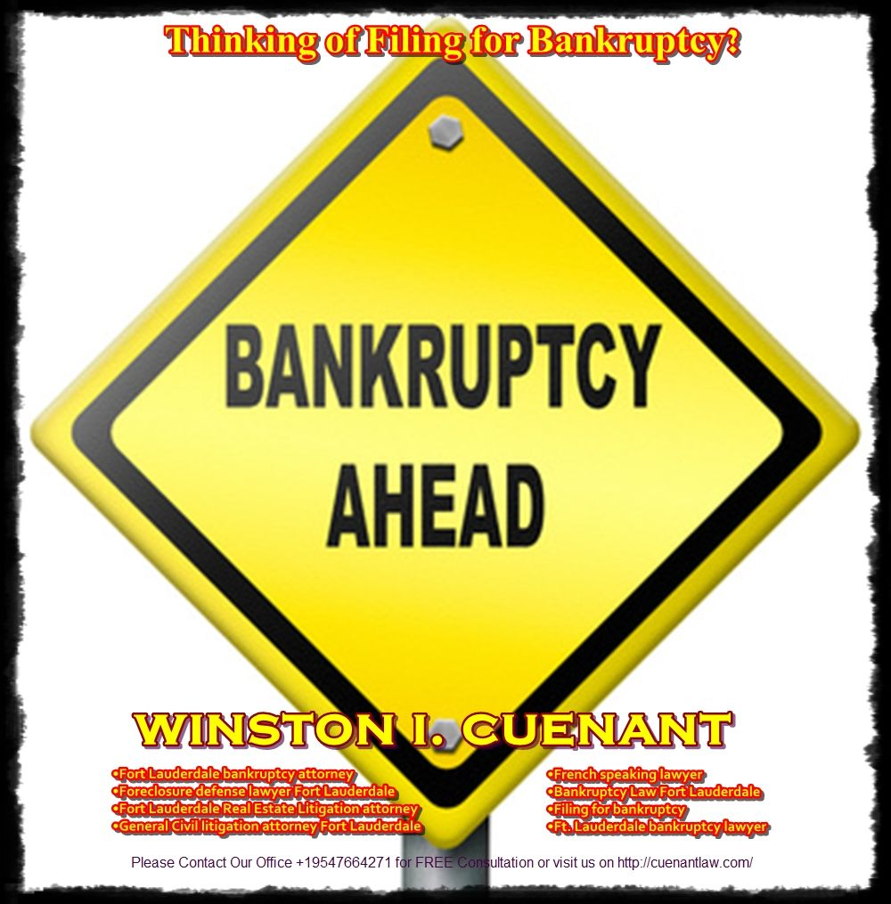 Thinking of Filing for Bankruptcy? Bankruptcy, Chapter