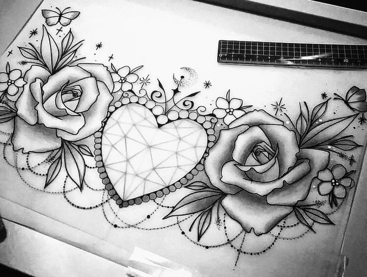 Blumenranken Tattoo 20 Schone Vorlagen Fur 4 0