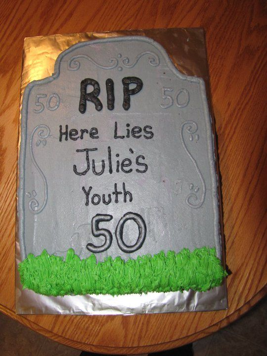 Gravestone cake for moms bday Suzie homemaker Pinterest