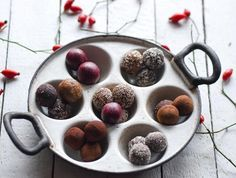 S-Küche: Winter Raw Balls in drei Versionen - Fruchtige Ene...