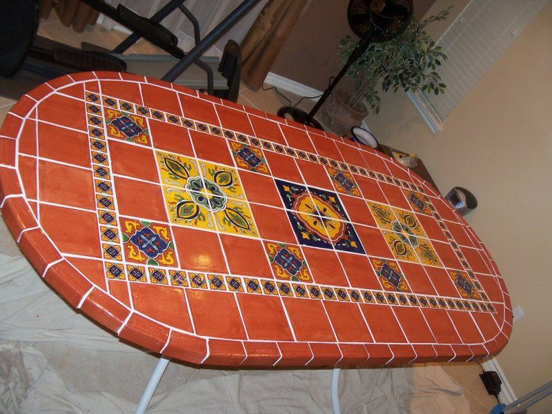 Exceptional Terracota And Decorative Tiles In Table Top, Mexican Home Decor Gallery.  Mission Accesories,