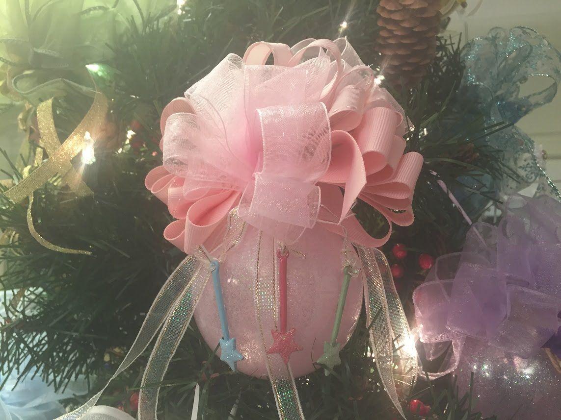 How To Make A Sleeping Beauty Ornament Ball Tutorial