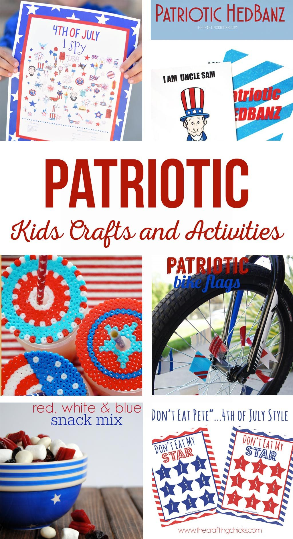 Patriotic Kids Crafts and Activities Thanksgiving crafts