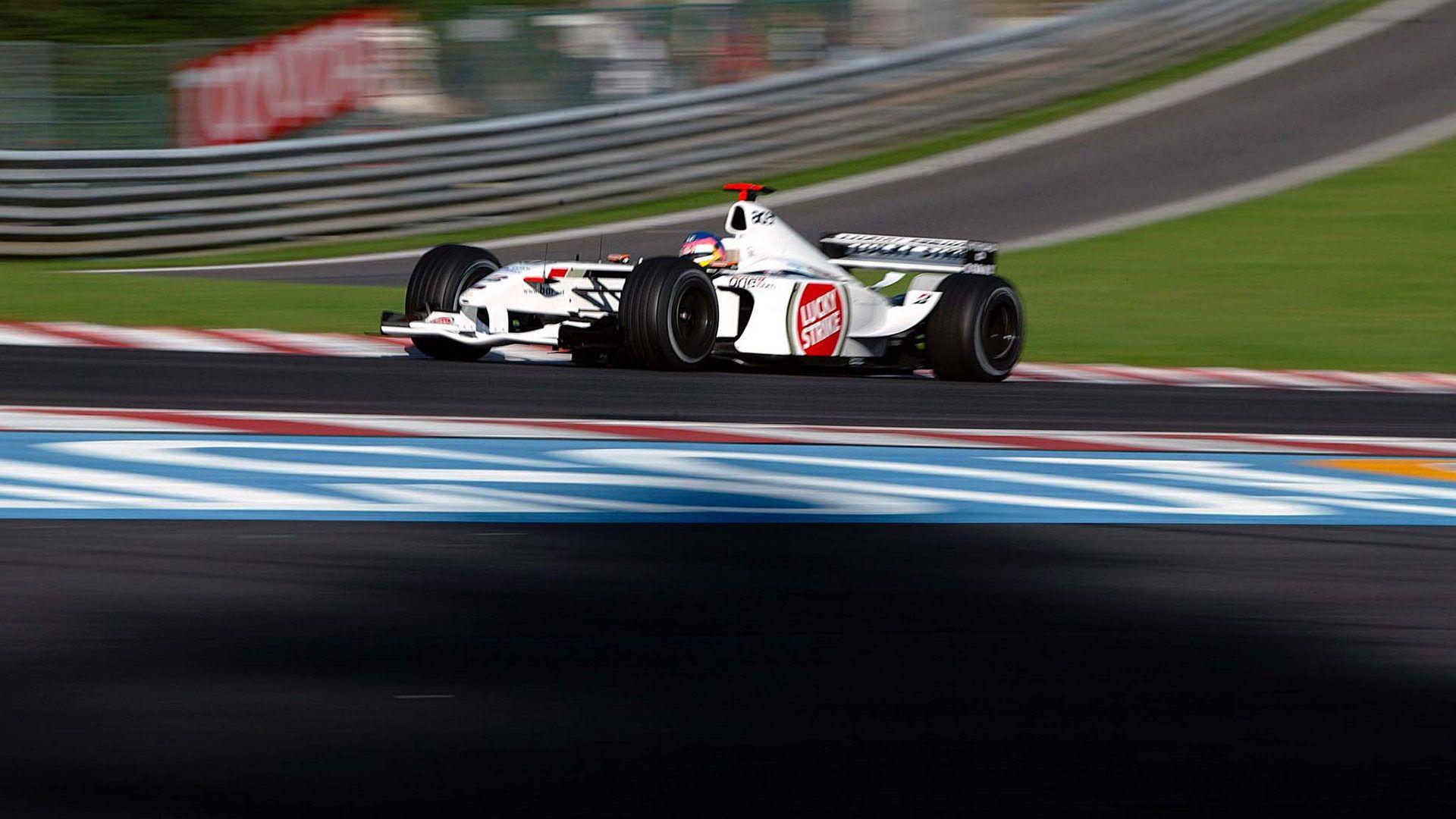 Jacques Villeneuve - B.A.R 004 - 2002