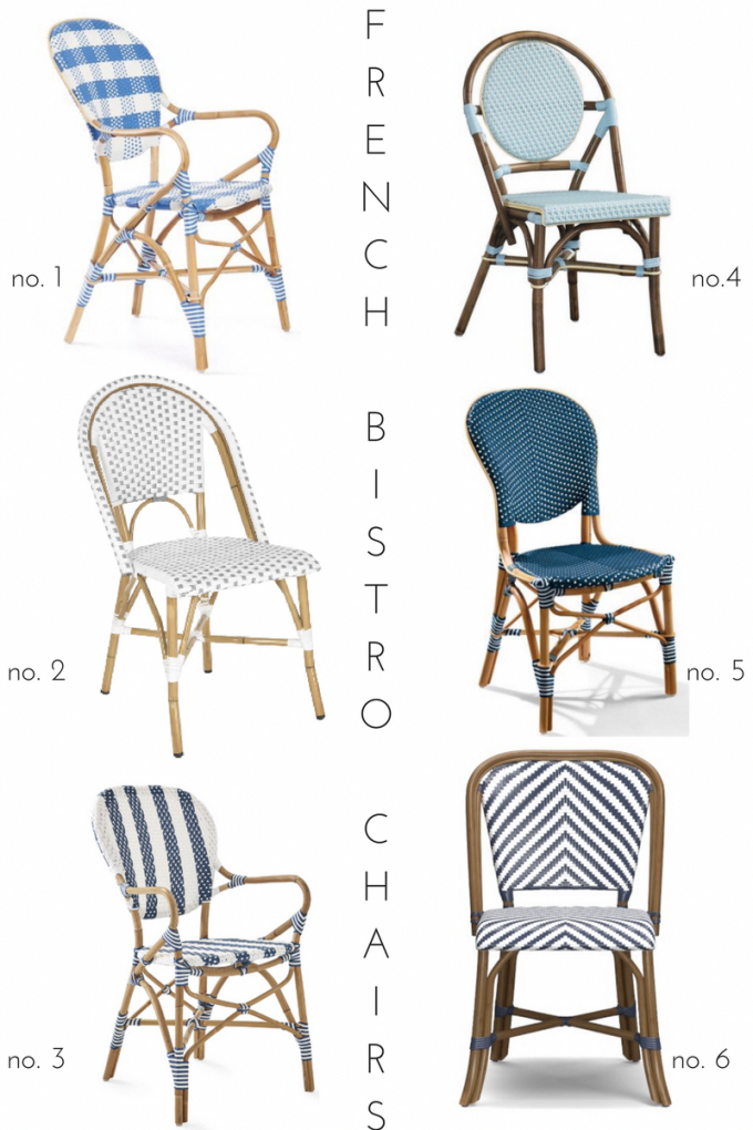 outdoor french bistro chairs portable chair lift cushion bistrochairs pinterest