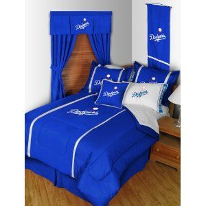 Pin By Nichole Bowler On Los Angeles Dodgers Cool Beds Dodgers Sports Bedding