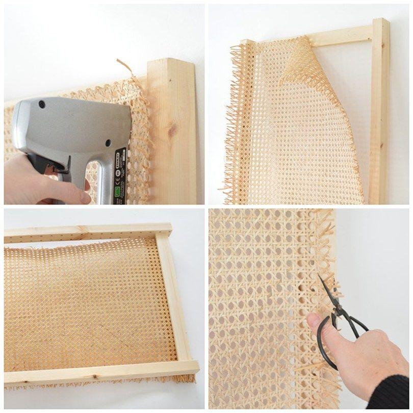 IKEA HACK | Un cabecero con cannage y un panel IVAR - El blog de Laücreativa