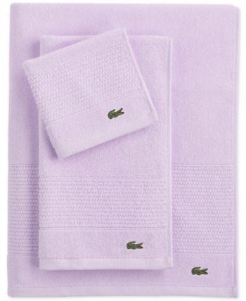 Lacoste Home Lacoste Mix And Match Cotton Fashion Towels Reviews Bath Towels Bed Bath Macy S With Images Cotton Bath Towels Towel Collection Blue Towels