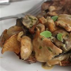 Creamy Wild Mushroom Ragout Allrecipes.com