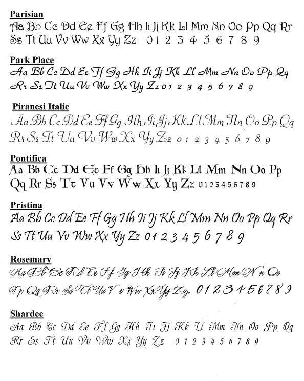 Calligraphy Fonts 7 Piranesi Italic