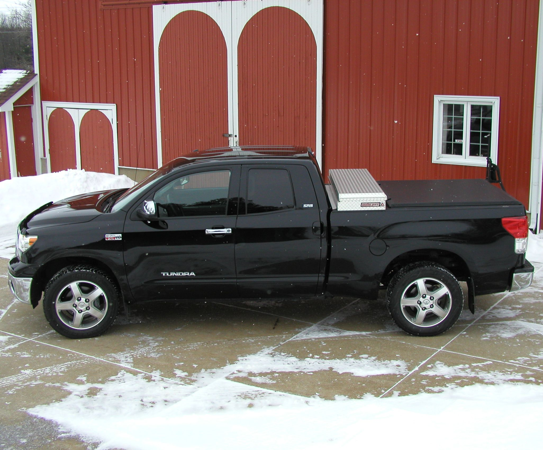 M.D.L. in Michigan sent us this shot of his Toyota Tundra