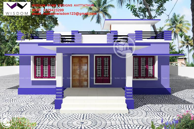 1250 Sq Ft Amazing And Beautiful Kerala Home Designssz Mahesh House Balcony Design House Roof Design Bungalow House Design