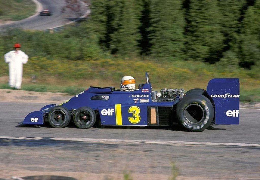 Jody Scheckter 1976 looks like Canada Classic Racecars