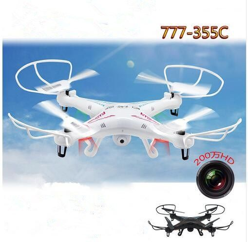 Available Price US 7024 Rc Drone 777 355C With HD Aerial Camera 24G 4CH