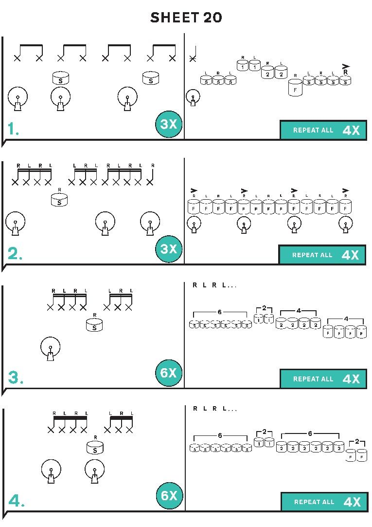 how to read drum music free