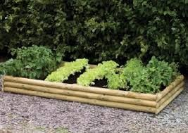 terraced vegetable patch with railway sleepers for small gardens - Google Search