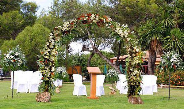 Fincas para bodas con jard n boda lugares lugares de for Jardines bodas df