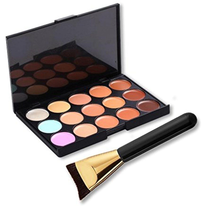 OVERMAL 15 Colors Makeup Concealer Contour Palette Makeup